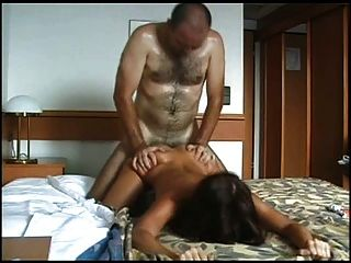 black chick with a dick tube